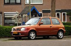 1999 Nissan Micra 1.3 16V Aztek ChromaFlair Mystique (rvandermaar) Tags: 1999 nissan micra 13 16v chromaflair mystique march k11 nissanmarch nissanmicra nissanmicrak11 nissanmarchk11 micrak11 marchk11 sidecode6 90dlvv