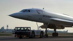 Concorde Under Tow. (spencer_wilmot) Tags: concorde ba baw heathrow