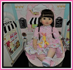 Meet Apple. Joining Our Family Just In Time For Easter (marilyntunaitis) Tags: pursuebabyreborntoddler princessgirlmelinda doll toy apple