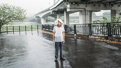 The Prophet (リンドン) Tags: 台湾 台北 雨 男 streetphotography taiwan travel man rain taipei fujifilm xt2 16mm xf wr