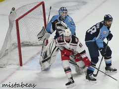 Zoomed Near The Net (mistabeas2012) Tags: milwaukee admirals