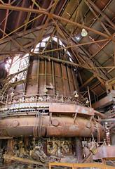 carrie blast furnace number six (J Blough) Tags: carrieblastfurnace pittsburgh rankin iron industry