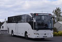 BV66GVX  Humphries, Datchet (highlandreiver) Tags: bv66gvx bv66 gvx humphries coaches datchet mercedes benz tourismo bus coach gretna green