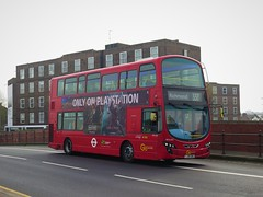 London Central WVL435 (LJ61GWU) - 16-04-19 (peter_b2008) Tags: goaheadgroup londoncentral volvo b9tl wrightbus eclipsegemini2 wvl435 lj61gwu london buses coaches transport buspictures