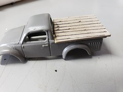 Custom Hot Wheels VW Truck II (houseofboyd) Tags: custom hot wheels 49 vw truck