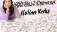 500 Most Common Italian Verbs (GerdChannel) Tags: youtube gerdchannel how learn language learning languages any new best way tips english foreign spanish home german portuguese chinese