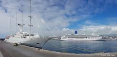 Wind Surf & AuroraWind Surf & Aurora (Andre Velho Cabral) Tags: windstar cruises azores