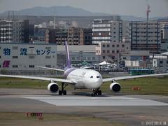 Fukuoka Airport 2019.4.13 (25) (double-h) Tags: omd em1markii omdem1markii lumixgxvariopz45175mmf4056asphpowerois rjff fuk fukuokaairport 福岡空港 airplane 飛行機 observationdeck 展望デッキ