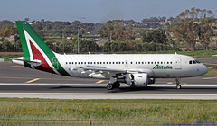 EI-IMB LMML 18-04-2019 Alitalia Airbus A319-112 CN 2033 (Burmarrad (Mark) Camenzuli Thank you for the 18.9) Tags: eiimb lmml 18042019 alitalia airbus a319112 cn 2033