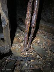Old mining equipment (lortopalt) Tags: abandoned övergiven övergivna srt single rope technique lortopalt stefan exploring utforska