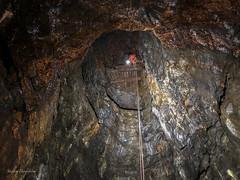 SRT climbing (lortopalt) Tags: srt single rope tecnique abandoned övergiven övergivna mine mines gruva gruvor lortopalt stefan klättra