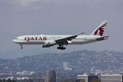 B777 A7-BBE Los Angeles 22.03.19 (jonf45 - 5 million views -Thank you) Tags: airliner civil aircraft jet plane flight aviation lax los angeles international airport klax b777 777 qatar airways boeing a7bbe