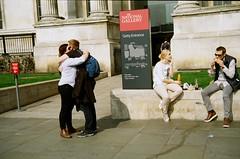 Attempts at shooting film, Trafalgar Square (elisabethanne_thetravellingphotographer) Tags: trafalgarsquare london central centrallondon