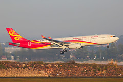 Hainan Airlines Airbus A330-343 B-1098 (Mark Harris photography) Tags: spotting plane airbus canon 5d aviation yssy sydney