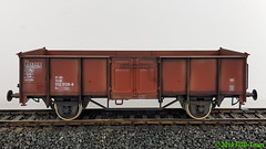 Modelbouw Boerman 9006-0004 - DR Güterwagen Es 5520 - gealtert (Stefan's Gartenbahn) Tags: modelbouw boerman modellbau güterwagen dr ommu 400 gealtert es5520 90060004 regelspur 64mm spur2