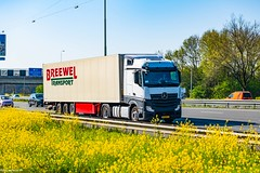 Truck Spotting on the A16 Netherlands @ the Shell Services 20/04/2019.