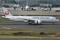 JA827J B787-8 Dreamliner Japan Airlines (JaffaPix +5 million views-thanks...) Tags: ja827j b7878 787 b787 b788 boeing dreamliner japanairlines jal jaffapix davejefferys tokyoairport japan aircraft airplane aeroplane aviation flying flight runway airline airliner hnd haneda tokyohaneda hanedaairport rjtt planespotting