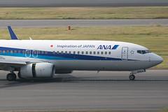 8V8A7161.JA86AN.B738.ANA.DJ (JaffaPix +5 million views-thanks...) Tags: jaffapix davejefferys tokyoairport japan aircraft airplane aeroplane aviation flying flight runway airline airliner hnd haneda tokyohaneda hanedaairport rjtt planespotting 737 b737 b738 b737800 boeing