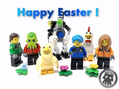 Classic Space Easter 2019 (captainmutant) Tags: afol lego legospace legography photography sciencefiction science fiction scifi brickography toy space exploration moc ideas classic custom minifigure minifig minifigs minifigures