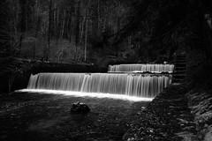 Waterfalls 2 (sebastienvillain) Tags: switzerland suisse fujifilm fuji xe2 xseries noiretblanc blackandwhite bw nb monochrome waterfall waterfalls cascade cascades river riviere xf18mm