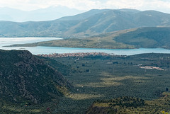 Delphi RX605985 View down to Itea and the Gulf of Corinth (Recliner) Tags: oracle pytho mountparnassus