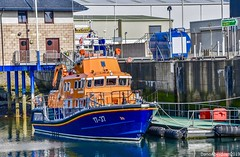 Buckie Harbour - Aberdeenshire Scotland - 19th April 2019 (DanoAberdeen) Tags: williamblannin danoaberdeen buckie lifeboat rnlb rnli candid amateur 2019 buckiescotland moraycoast aberdeenshire ship northsea harbour water moray vessels boats