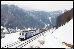 Lokomotion 151 060, St. Jodok 08-02-2018 (Henk Zwoferink) Tags: auserschmirn tirol austria stjodok henkzwoferink lm lokomotion rtc railtractioncompany 151 060 brenner