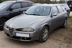 2003 Alfa Romeo 156 Kombi Front (Joachim_Hofmann) Tags: auto fahrzeug verbrennungsmotor ottomotor alfa alfaromeo kombi 156 kraftfahrzeug kfz