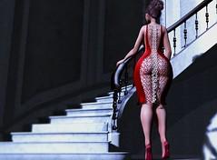 Shadow Play (Kara Littlecrow *Blogger*) Tags: blog blogger blogotex catwa belleza freya lic rachael dress shoes second life