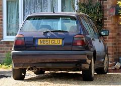 N851 GLU (Nivek.Old.Gold) Tags: 1996 volkswagen golf gti 5door 1984cc
