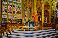 St. Mary's Cathedral Basilica of the Assumption, 1130 Madison Avenue Covington, Kentucky, USA / Dedicated: Janurary 27, 1901 / Architects:  Leon Coquard, David Davis / Architectural Style: Late Gothic Revival, French Gothic / NRHP: July 20th, 1973 (Photographer South Florida) Tags: stmaryscathedralbasilicaoftheassumption 1130madisonavenuecovington kentucky usa dedicatedjanurary271901 architectsleoncoquard daviddavis architecturalstylelategothicrevival frenchgothic nrhpjuly20th1973 altar holyplace holybuilding placeofworship romancatholic