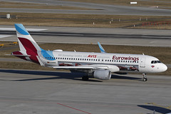 D-AEWS ZRH 25.02.2019 (Benjamin Schudel) Tags: daews avis eurowings airbus a320 zrh lszh zurich international airport switzerland swiss
