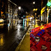 Rainy night on Rue Notre-Dame 1  (Montreal)