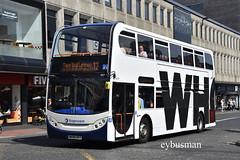 Stagecoach in Newcastle 19379,  NK58AET. (EYBusman) Tags: stagecoach newcastle busways tyne wear city centre bus coach overall advert alexander dennis enviro 400 19379 nk58aet eybusman