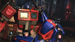 Soldier Sorrow (G1) #2 (BarricadeCaptures) Tags: transformers transformersfallofcybertron transformersfoc fallofcybertron fallofcybertrondefendtheark defendtheark centralspaceport optimusprime optimus autobotleader autobotoptimusprime autobotoptimus transformersoptimusprime transformersoptimus g1optimus g1optimusprime autobotsoldier gamescreenshots gamephotography videogame screencapture screenshot screencap