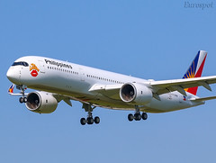 F-WZHI Airbus A350 Philippines (@Eurospot) Tags: fwzhi airbus a350 a350900 rpc3508 toulouse blagnac philippines