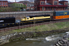 Q292 151 (Fan-T) Tags: erie q292 csx furx gmtx susquehanna nysw kent ohio cuyahoga river station treno