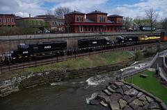 Q292 144 (Fan-T) Tags: erie q292 csx furx gmtx susquehanna nysw kent ohio cuyahoga river station treno