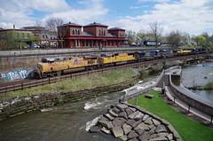 Q292 133 (Fan-T) Tags: erie q292 csx furx gmtx susquehanna nysw kent ohio cuyahoga river station treno