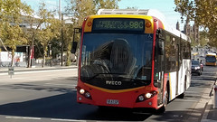 Adelaide Bus (2/4) (Jungle Jack Movements (ferroequinologist)) Tags: king william street north terrace custom coaches obahn jetty road glenelg adelaide metro sa south australia bus transport service carry take journey convey move travel passenger route stop ring bell card city suburb trip conveyance carriage vehicle depot driver trek seat ticket go hail mobile pass coach drive number tour voyage tourism work cover livery commute commuter customer traveller fare toll bas persiaran town mind gap man iveco higer cummins