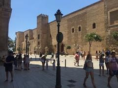 048_Palma (SmoKingTiger1551) Tags: spain mallorca balear isle island palma city palace tower stonewall mediterranean