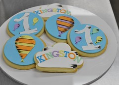 Dr seuss cookies (jennywenny) Tags: oh places youll go cloud balloon 1st birthday