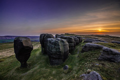 setting over the stones (Glen Parry Photography) Tags: glenparryphotography landscape bridestones calderdale calderdaleway country countryside d7000 hiking landscapephotography nightphotography nikon nikond7000 nikonphotographer outdoors sigma sunset todmorden walking westyorkshire
