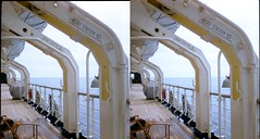 Batch E 0041 (dizzygum) Tags: vintage stereo 3d slide images 1960 european trip us to europe ss ryndam life boat station