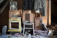 ...collective... (Art in Entropy) Tags: abandoned house radio vintage old lost derelict urban decay urbex explore exploration grime art photography light sony sonyalpha room