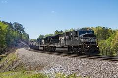 NS 177 at MP 108.0H (travisnewman100) Tags: norfolk southern ns train railroad emd freight manifest rr sd80mac sd70acu atlanta north district georgia division 177