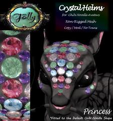 Folly_NoodleCrystalHelmAd_Princess (Cane's Folly SL) Tags: cane sutter second life chibi noodle avatars
