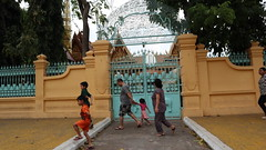 Elephant entrance of Royal Palace, Phnom Penh