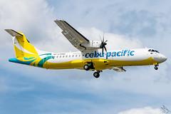 Cebu Pacific Air - ATR 72-212A(600) / RP-C7282 @ Manila (Miguel Cenon) Tags: ceb cebgo cebatr cebupac cebupacific cebuatr cebu cebpac bupak airplane airplanespotting apegroup appgroup airport rpll atrairplanes atr atr72 turboprop philippines planespotting ppsg manila naia nikon d3300 aircraft wings wing window wheel narrowbody prop propliner rpc7282