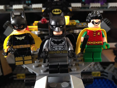 Battle for the Batcave (bricksfreaks) Tags: dc dccomics custom comics customlego customminifigures customfigures bricksfreaks bricks batman figures freaks batcave batfamily superheroes supervillains minifigures minifigs gotham